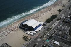 Arena Campeonato de Tênis - Praia de Copacabana