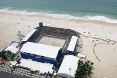 Arena Beach Soccer - Praia de Copacabana