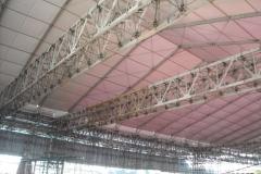 Estrutura tubular e modular - Fifa Preliminary Draw