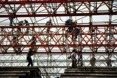 Estrutura modular e tubular - Rio +20 Projeto Humanidade