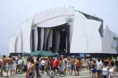 Palco Reveillon 2012 Praia de Copacabana